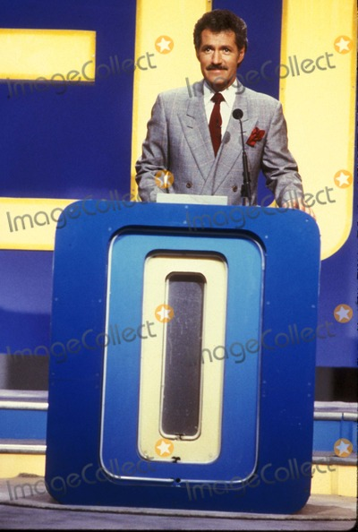 Alex Trebek Photo - Alex Trebek on Jeopardy Supplied by Globe Photos Inc
