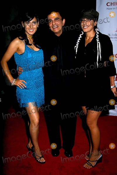 Casey Kasem Photo - Runaway For Life Benefit at the Beverly Hills Hilton Hotel CA 08192003 Photo Phil Roach Ipol Globe Photos Inc 2003 Casey Kasem Family Daughters Kerry and Jluie