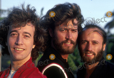 Bee Gees Photo - Bee Gees Photo Ipol Globe Photos Inc 1998 Bee Gees Maurice Barry and Robin Gibb Mauricegibbretro