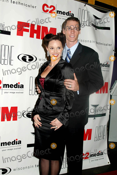 ANNA BENSON Photo - Fhm Hosts Celebrity Charity Event with NY Met Kris Benson and Wife Anna Benson at Eugene  New York City 11-23-2004 Photo Mitchell LevyrangefindersGlobe Photos Inc 2004 Kris and Anna Benson