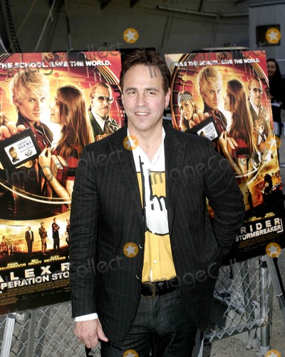 Anthony Horowitz Photo - October 2006 - New York NY - Anthony Horowitz (Author and Screenwriter) Arrives For Alex Rider Operation Stormbreaker Movie Premiere Held at the Intrepid Sea  Air Space Museum Photo Credit Anthony G MooreGlobe Photos