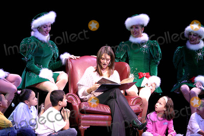 The Radio City Rockettes Photo - Katie Holmes Joins the Radio City Rockettes As They Kick Off Opening Night of the Radio City Christmas Spectacular at Radio City Music Hall  New York City 11072003 Photo by Rick Mackler  Rangefinders  Globe Photosinc Katie Holmes