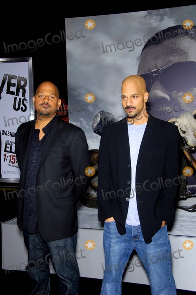 Allen Hughes Photo - Allen Hughes and Albert Hughes During the Premiere of the New Movie From Warner Bros Pictures the Book of Eli Held at Graumans Chinese Theatre on January 11 2010 in Los Angeles Photo Michael Germana - Globe Photos Inc