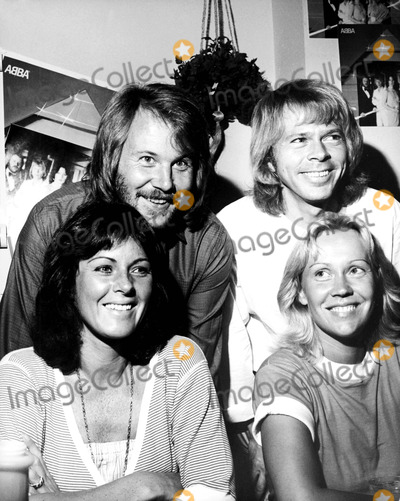 Agnetha Faltskog Photo - Benny Anderson Bjorn Ulvaeus Anni-frid Lyngstad and Agnetha Faltskog of Abba 91979 Nate CutlerGlobe Photos Inc