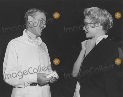 Alec Guinness Photo - Grace Kellyprincess Grace and Alec Guinness Between Scenes on the Set of Mgms the Swan Globe Photos Inc