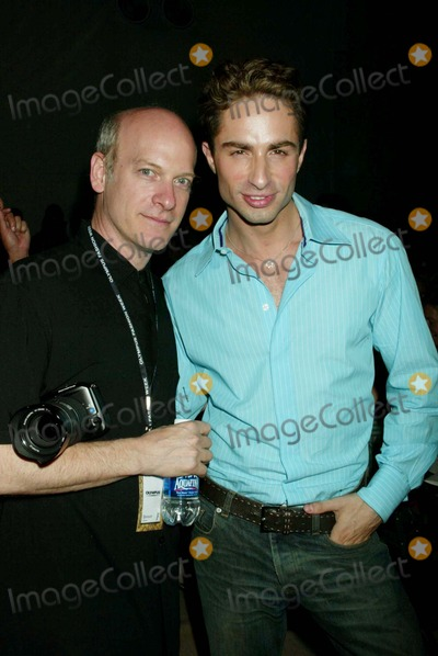 MICHAEL LUCAS Photo - Olympus Fashion Week Betsey Johnson Spring 2006 Collection (Celebs) Bryant Park New York City 9-12-2005 Photo by Sonia Moskowitz-Globe Photosinc Timothy Greenfield Sanders_michael Lucas