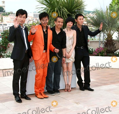 Chen Sicheng Photo - Wu Wei Chen Sicheng Lou Ye Tan Zhuo  Qin Hao Actors  Director Spring Fever Photo Call at the 2009 Cannes Film Festival at Palais Des Festival Cannes France 05-14-2009 Photo by David Gadd Allstar--Globe Photos Inc 2009