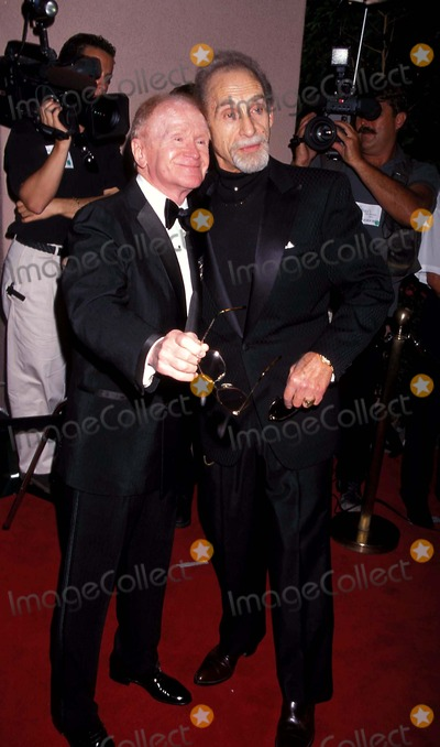 Milton Berle Photo - Milton Berles 90th Birthday Beverly Hills California Red Buttons and Sid Caesar Photo Milan Ryba - Globe Photos Inc 1998 Redbuttonsretro