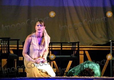 Anna Falchi Photo -  Sd08062003 Ostia Antica (Rome) Comedy La Venexiana Directed by Ferdinando Balestra Photo Shows Anna Falchi Photo CoraggiolapresseGlobe Photosinc