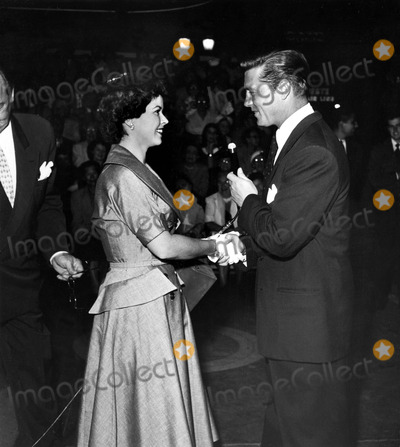 Shirley Temple Black Photo - Shirley Temple and Gordon Macrae at the Premiere of the New Tv Show Called Our Famous Husbands Supplied by Globe Photos Inc