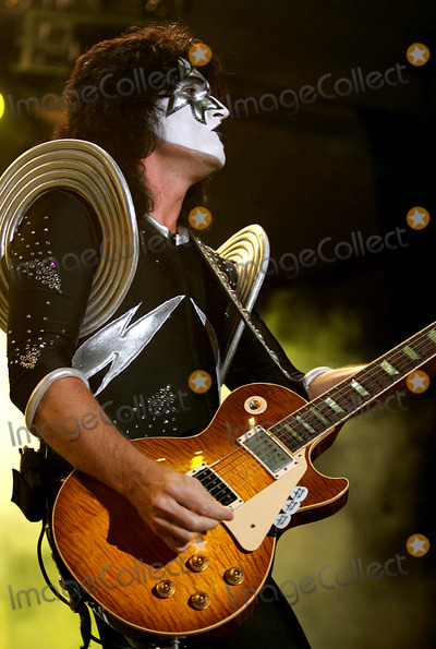 Ace Frehley Photo - Kiss Rock the Nation 2004 World Tour with Poison Make Their Atlantic City Debut at Trump Taj Mahal  New Jersey 07172004 Photo by Rick MacklerrangefinderGlobe Photosinc Ace Frehley