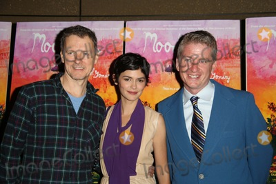 AUDREY TATOU Photo - The New York Premiere of Mood Indigo the Tribeca Grand Hotel NYC July 16 2014 Photos by Sonia Moskowitz Globe Photos Inc 2014 Michel Gondry Audrey Tatou Tim League