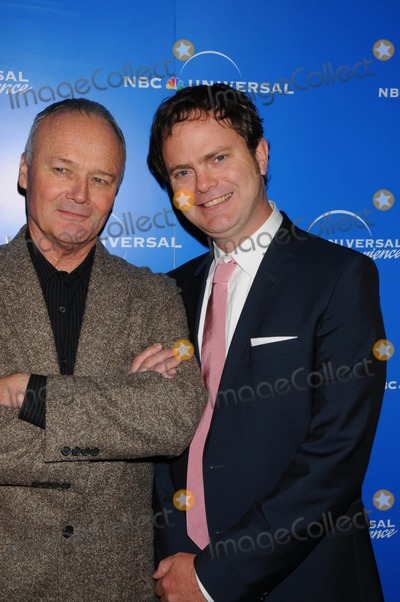 Creed Bratton Photo - the NBC Universal Experience Rockefeller Center New York City 05-12-2008 Photo by Ken Babolcsay-ipol-Globe Photos Inc 2008 Creed Bratton with Rainn Wilson