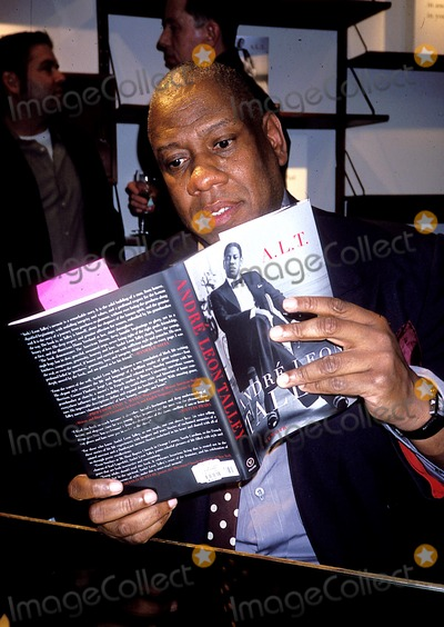 Andre Talley Photo - Andre Talley K30208rhart Andre Talleys Book Party at Bergdorf Goodman in New York City 4222003 Photo Byrose HartmanGlobe Photos Inc