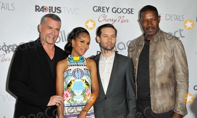 TOBEY MCGUIRE Photo - Ray Liotta Kerry Washington Tobey Mcguire Dennis Haysbert attending the Los Angeles Premiere of the Details Held at the Arclight Theater in Hollywood California on October 29 2012 Photo by D Long- Globe Photos Inc