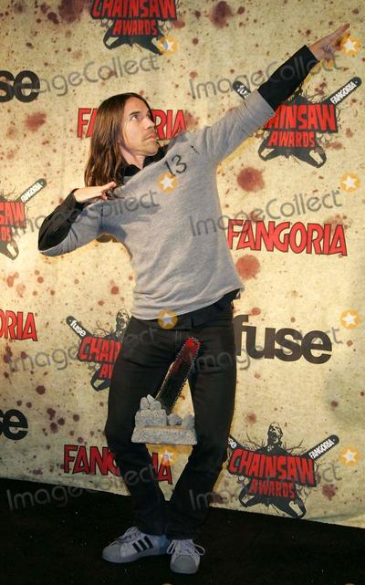 Anthony Kiedis Photo - Anthony Kiedis Fuse Fangoria Chainsaw Awards - Orpheum Los Angeles California - 10-15-2006 - Photo by Graham Whitby Boot-allstar-Globe Photos Inc 2006
