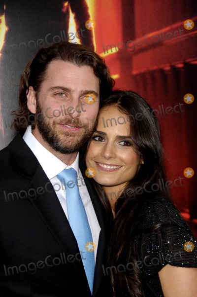Andrew Form Photo - Andrew Form and Jordana Brewster During the Premiere of New Movie From Warner Bros Pictures a Nightmare on Elm Street Held at Graumans Chinese Theatre on April 27 2010 in Los Angeles Photo Michael Germana - Globe Photos Inc 2010