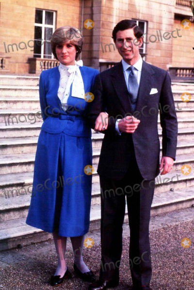 Lady Diana Photo - -24-81 Hrh Prince of Wales and Lady Diana Spencer on the Day Their Engagement Is Announced Credit Uppa Ipolinc I1236uppa B39 038148 Credit UppaipolGlobe Photos Inc Credit UppaipolGlobe Photos Inc