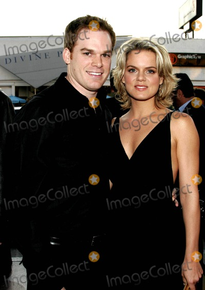 Amy Spanger Photo - Michael C Hall and Wife Amy Spanger - Reefer Madness - Los Angeles Premiere - Regent Showcase Cinema Los Angeles CA 04-05-2005 - Photo by Nina PrommerGlobe Photos Inc2005