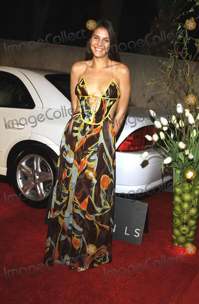Angela Missoni Photo -  Vanity Fair and Banana Republic Hosts a Night in White a Private Estate in Hollywood CA 03222002 Photo by Amy GravesGlobe Photosinc2002 Margherita Missoni (Daughter of Designer Angela Missoni Wearing a Missoni Dress)