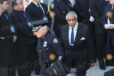 Charlie Rangel Photo - Funeral For Police Officer Rafael Ramos at Christ Tabernacle Church in Glendale Queens NYC Congressman Charlie Rangel Photo by Bruce Cotler- Globe Photos Inc