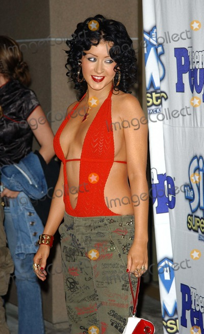 Christina Aguilera Photo - Teen People Celebrates the 6th Annual 25 Hottest Stars Under 25 Lucky Strike Lanes Hollywood CA 05052003 Photo by Fitzroy Barrett  Globe Photos Inc 2003 Christina Aguilera