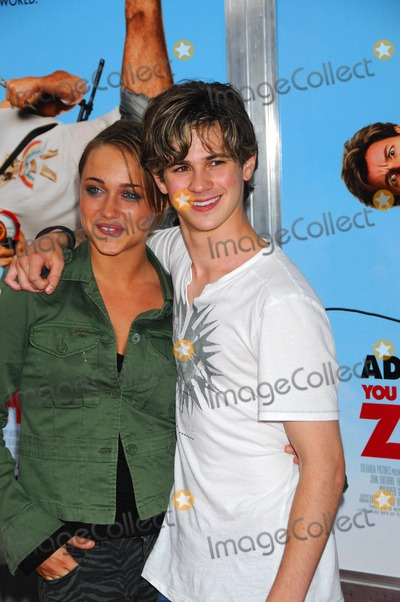 Alice Kremelberg Photo - Special Screening Fo You Dont Mess with the Zohan Ziegfeld Theater NYC 06-04-2008 Photo by Ken Babolcsay-ipol-Globe Photos 2008 I13378kba Alice Kremelberg and Connor Paolo