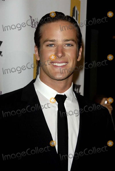 Armie Hammer Photo - The 12th Annual Hollywood Film Festival Hollywood Award Galaheld at the Beverly Hilton Hotelbeverly Hills California 102708 Photodavid Longendyke-Globe Photos Inc2008 Image Armie Hammer