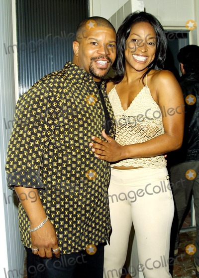 Kellita Smith Photo - Kelly Perine and Kellita Smith Laker Party Hosted by Hennessy Xo Cognac at the Home of Kelly Perine Los Angeles CA June 12 2002 Photo by Nina PrommerGlobe Photos Inc2002