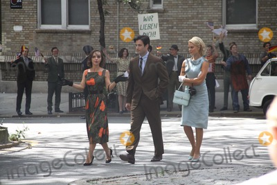 Margot Robbie Photo - Christina Riccicolin Donnellmargot Robbie on the Set of Abc New Tv Show Pan Am on W158 St to Look Like Germany in 1960s 8-11-2011 Photo by John BarrettGlobe Photos Inc