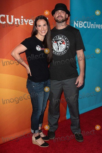 Adam Genei Photo - Adam Genei and Pam Genei Attend Nbcuniversal Press Tour 2015 on August 13th 2015 at the Beverly Hilton Hotel in Beverly HillscaliforniaphototleopoldGlobephotos