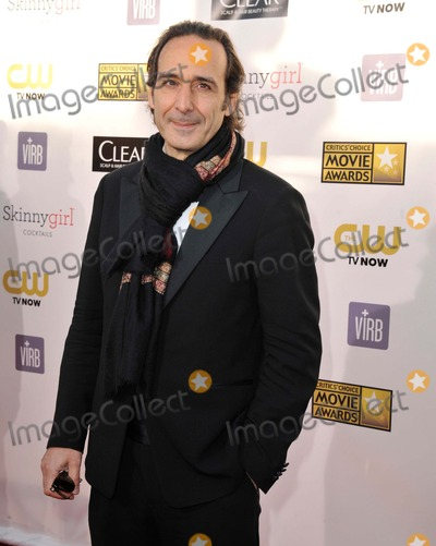 Alexandre Desplat Photo - Alexandre Desplat attending the 18th Annual Critics Choice Movie Awards Red Carpet Arrivals Held at Barker Hanger in Santa Monica California on January 10 2013 Photo by D Long- Globe Photos Inc