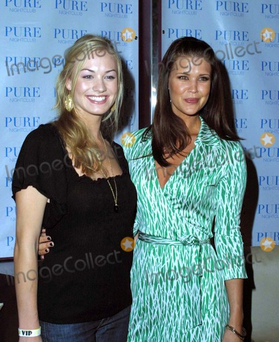 Yvonne Strzechowski Photo - the Cast of Nbcs New Show Chuck Attend a Premiere Party at Pure Nightclub Las Vegas NV 09-22-2007 Photo by Ed Geller-Globe Photos 2007 Yvonne Strzechowski and Sarah Lancaster