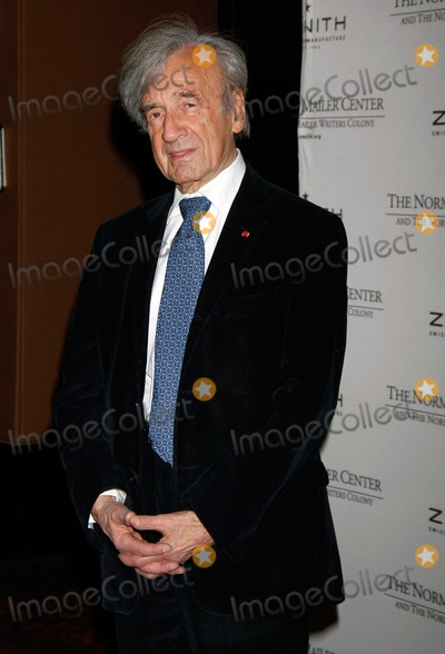 Elie Wiesel Photo - Elie Wiesel Arrives For the Norman Mailer Centers Third Annual Benefit Gala at the Mandarin Hotel in New York on November 8 2011 Photo by Sharon NeetlesGlobe Photos Inc