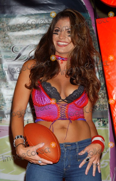 Bridgetta Tomarchio Photo - Lingerie Bowl 2005 Season Kick Off at Club Xes Hollywood CA 09012004 Photo by Miranda ShenGlobe Photos Inc 2004 Bridgetta Tomarchio
