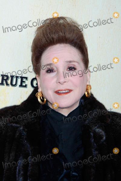 Cindy Adams Photo - True Grit New Year Premiere Ziegfeld Theater NYC December 14 2010 Photos by Sonia Moskowirz Globe Photos Inc 2010 Cindy Adams