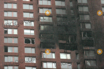 Cory Lidle Photo - Residential Building on East 72nd Street Which Was Struck by a Plane Piloted by Yankee Pitcher Cory Lidle 10-11-2006 Photo by John Barrett-Globe Photos Inc