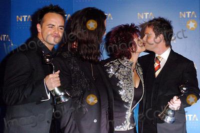 Ant  Dec Photo - Henry DavenportglobelinkukcomGlobe Photos Inc 10262004 001067 Ant  Dec  the Osbournes National Television Awards 2004 -Royal Albert Hall London