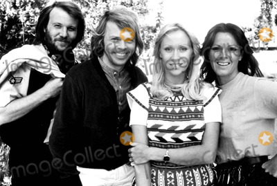 ABBA Photo - Benny Anderson Bjorn Ulvaeus Agnetha Faltskog and Anni-frid Lyngstad of Abba 1978 SmpGlobe Photos Inc