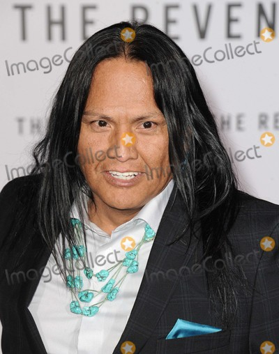 Arthur Redcloud Photo - Arthur Redcloud attending the Los Angeles Premiere of the Revenant Held at the Tcl Chinese Theatre in Hollywood California on December 16 2015 Photo by David Longendyke-Globe Photos Inc