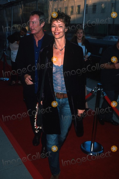 Rachel Ward Photo -  Showtime Premiere on the Beach at the Goldwyn Theatre in Beverly Hills CA 05162000 Bryan Brown and Rachel Ward Photo by Milan RybaGlobe Photos Inc