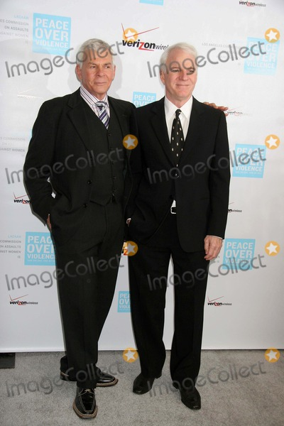 Ed Limato Photo - the 35th Annual Peace Over Violence (Formerly Lacaaw) Humanitarian Awards Dinner Beverly Hills Hotel Beverly Hills CA 10-27-2006 Steve Martin and Ed Limato - Icm Vice-president Photo Clinton H Wallace-photomundo-Globe Photos Inc
