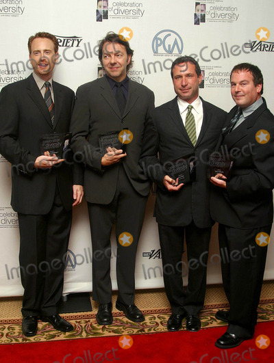 Alan Poul Photo - Robert Greenblatt Alan Poul Alan Ball and David Janollari Celebration of Diversity Held by the Producers Guild of America Regent Beverly Wilshire Hotel Beverly Hills CA October 28 2002 Photo by Nina PrommerGlobe Photos Inc 2002