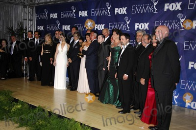 The Sopranos Photo - The Sopranos Cast During the 59th Annual Prime Time Emmy Awards Held at the Shrine Auditorium on September 16 2007 in Los Angeles Photo by Michael Germana-Globe Photosinc