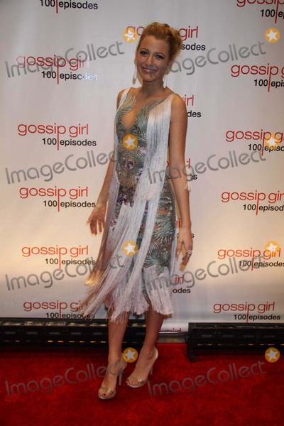 The Gossip Photo - Blake Lively at the Gossip Girl 100th Episode Party at Cipriani 55 Wall St 11-20-2011 Photo by John BarrettGlobe Photos Inc