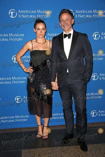 Alexi Ashe Photo - Alexi Ashe and Seth Meyers Attend the American Museum of Natural Historys 2015 Museum Gala the American Museum of Natural History NYC November 19 2015 Photos by Sonia Moskowitz Globe Photos Inc