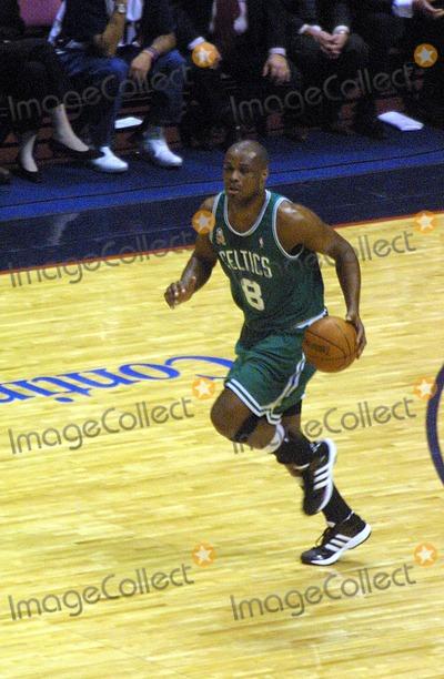 Antoine Walker Photo - Sd0521 New Jersey Nets Versus the Boston Celtics Eastern Conference Finals Game 2 Continenetal Airlines Arenameadowlands NJ Antoine Walker Photojohn BarrettGlobe Photos Inc