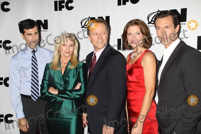 John Cariani Photo - John Carianisuzanne Senabrad Holbrooktracy Tothaaron Lazar Cast of Onion News Network at Onion News Network  on Ifc Season 2 at the News Museum at 235 Bowery St 10-3-2011 Photo by John BarrettGlobe Photos Inc