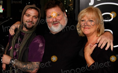 Bam Margera Photo - Bam Margera Phil Margera April Margera Actors Jackass 3d Premiere at Manns Chinese Theatre Hollywood CA 10-13-2010 Photo by Graham Whitby Boot-allstar - Globe Photos Inc