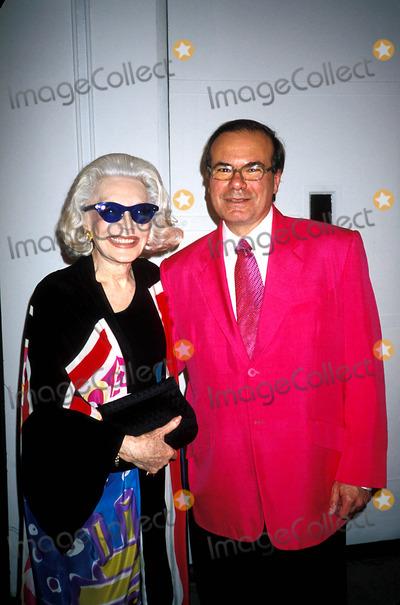 Anne Slater Photo - Hunt Slonem and Anne Slater at Marlboro in New York City Photo Byrose HartmanGlobe Photos Inc